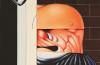 Sergio Sarri, Grande testa di guardiano, 1970, acrilici su tela, 80x80cm