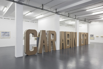 Gianni Pettena. About Non Conscious Architecture, Veduta dell'allestimento, Galleria Giovanni Bonelli, Milano, Crediti Laura Fantacuzzi