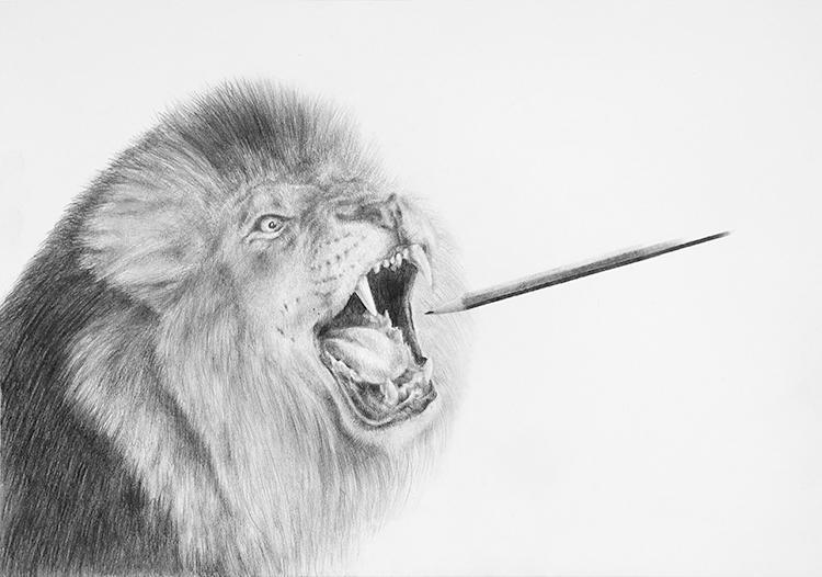 Massimiliano Galliani, disegno E matita, 2017, matita su carta, cm 30x42