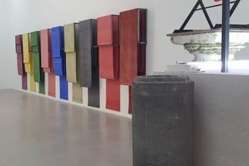 Vittorio Messina. In un certo senso infinito, veduta della mostra, Galleria Nicola Pedana, Caserta