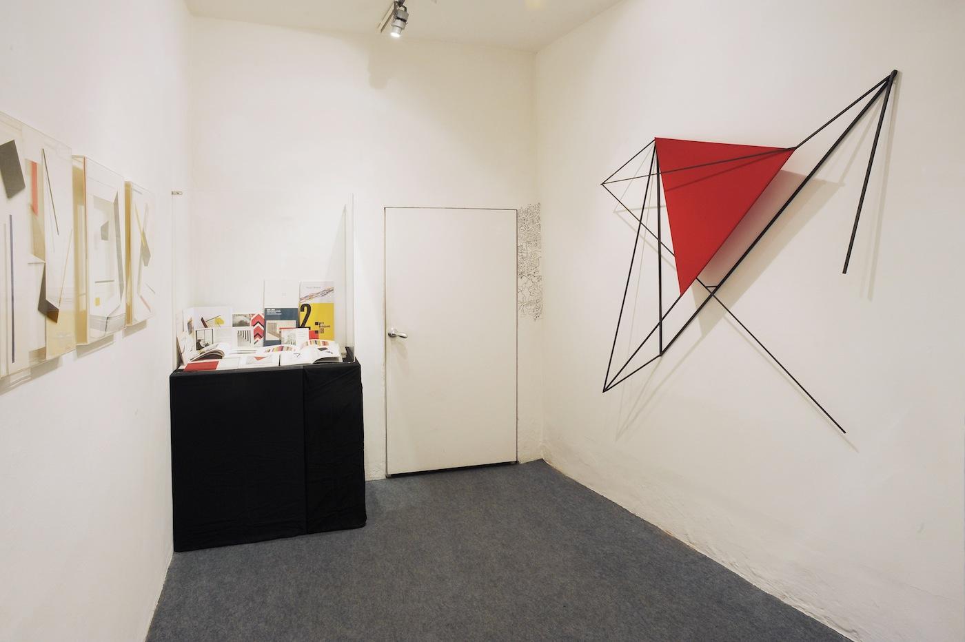 """Paolo Ghilardi, Installazione """"environment"""" 1976, Spazio Testoni, Bologna"""