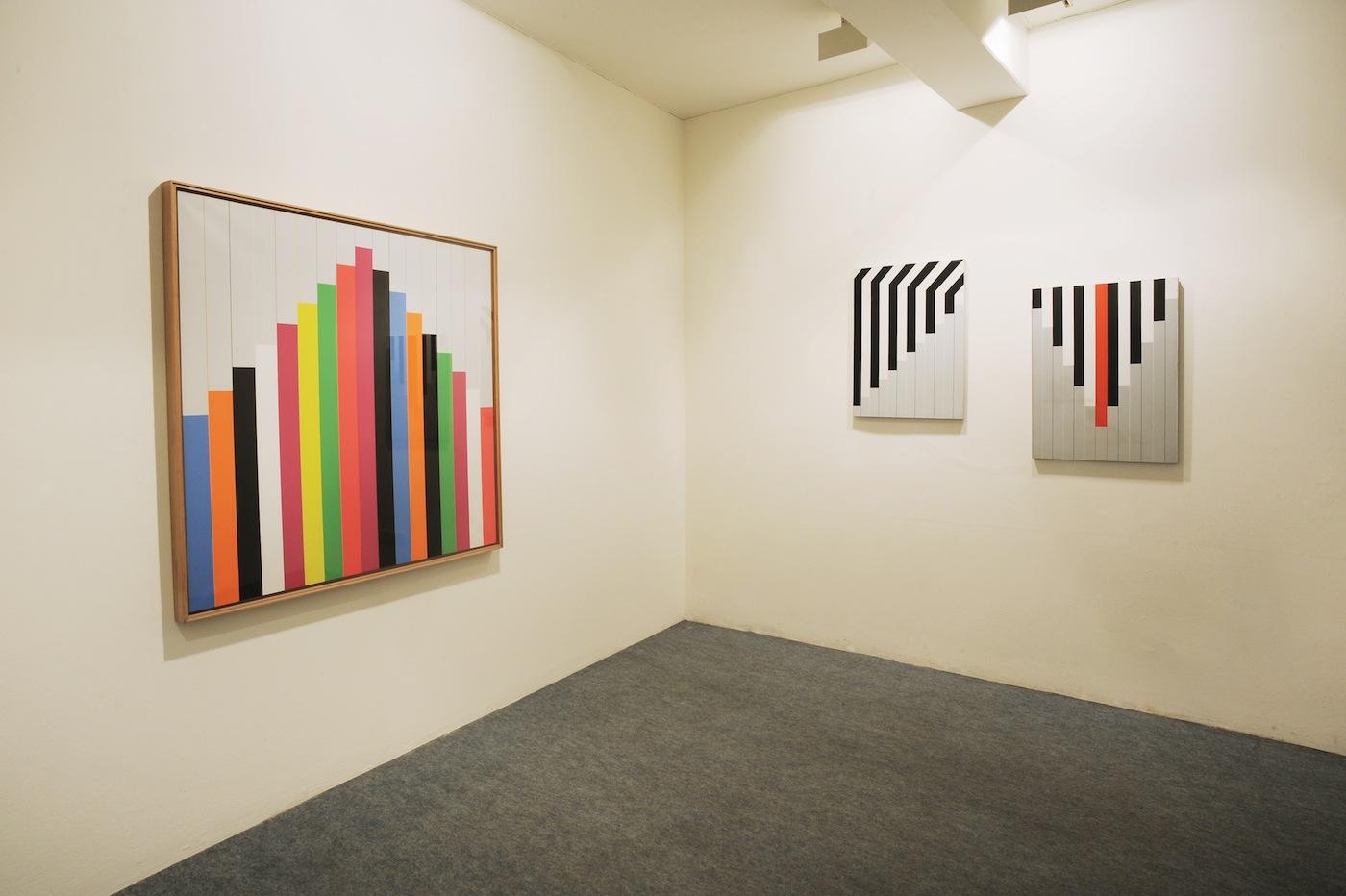 Paolo Ghilardi, veduta mostra, Spazio Testoni, Bologna