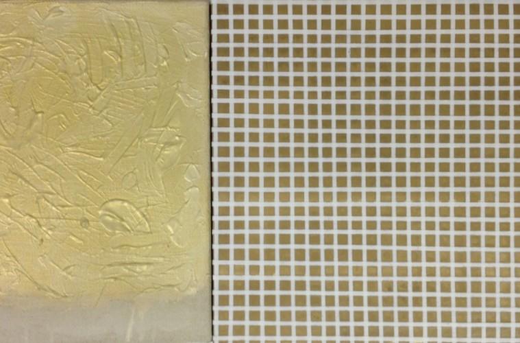 Albano Morandi, Con Tomas Rajlich, 1989-2017, dittico, tecnica mista, 36x73.5 cm Courtesy l'artista e Galleria Milano, Milano