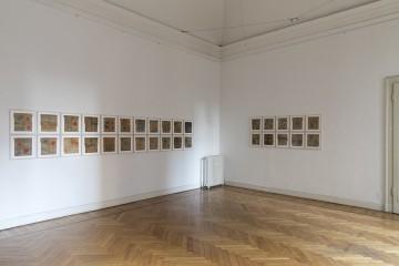 Albano Morandi. Immagini rubate a memoria, veduta della mostra (Colori per Depero), Galleria Milano, Milano
