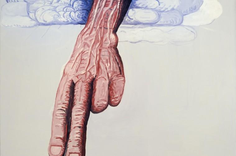Philip Guston, The LIne, 1978, olio su tela, collezione privata ©The Estate of Philip Guston. Courtesy Hauser & Wirth