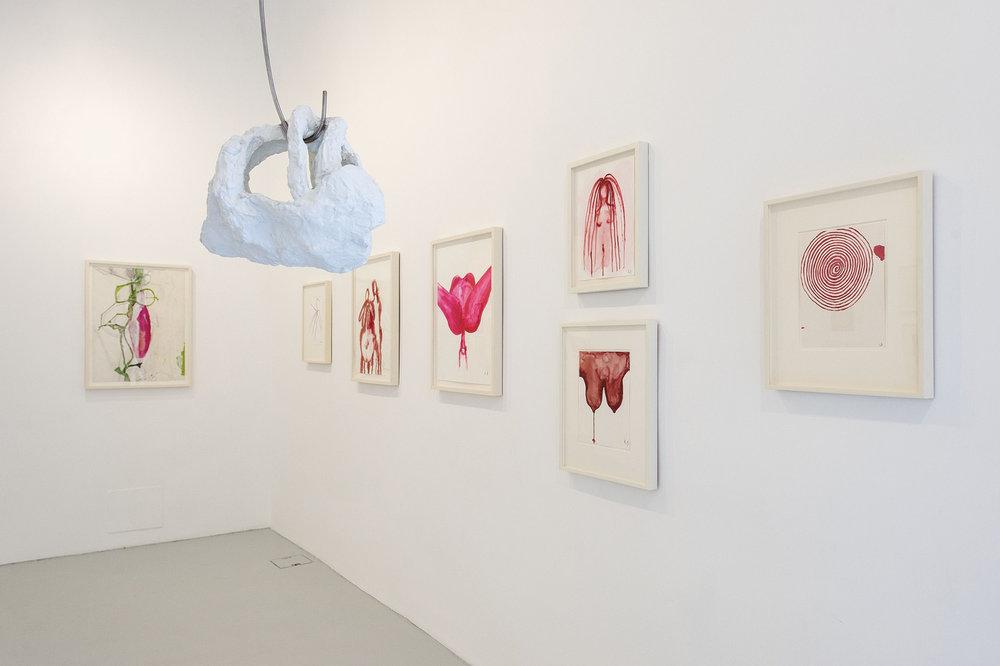 Louise Bourgeois, Voyages Without a Destination, 2017 Installation view. Foto: Francesco Squeglia