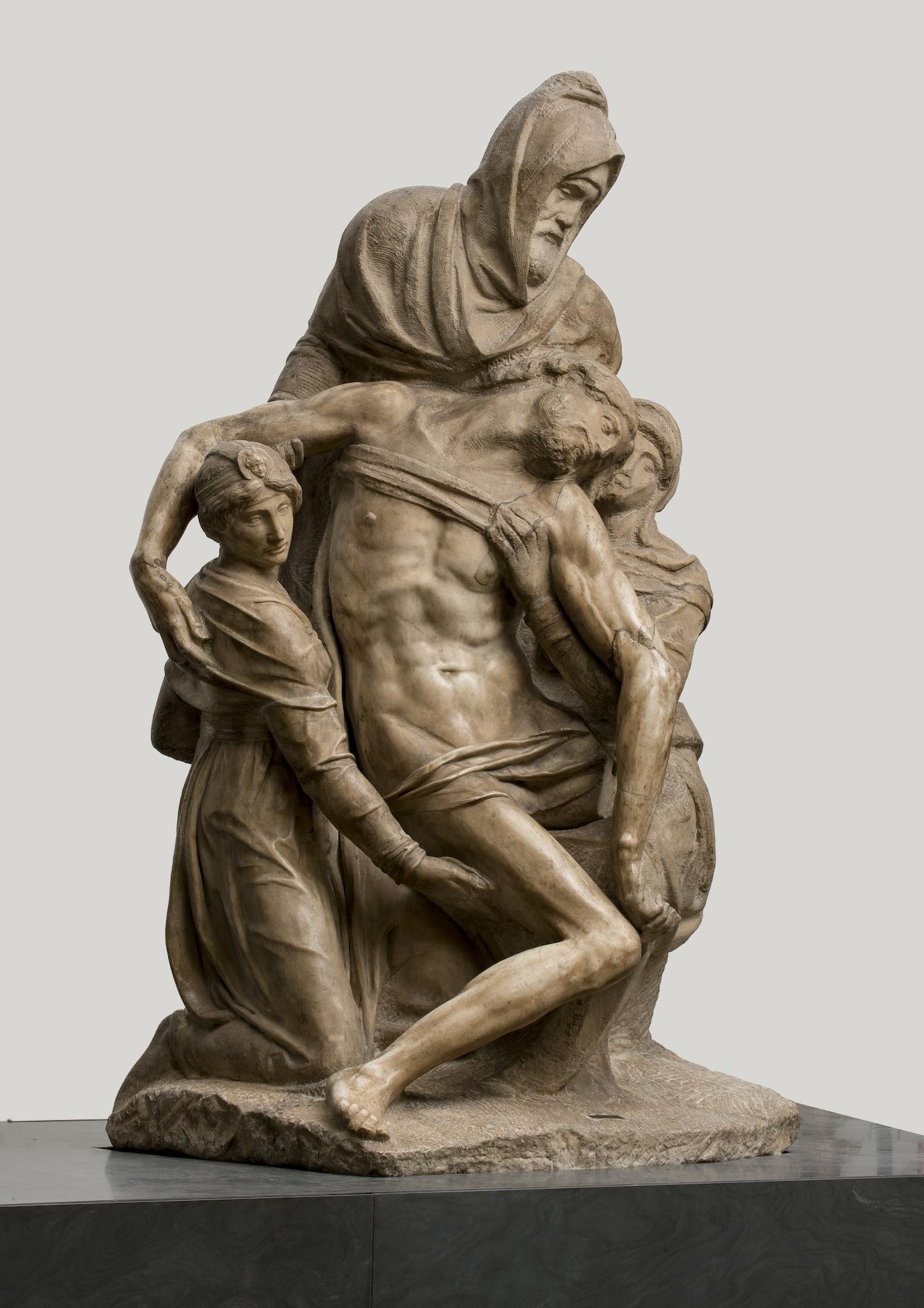 Pietà Bandini Michelangelo Buonarroti (Caprese? 1475-Roma 1564), 1547-1555 circa. Marmo, cm 226 x 138 x 125. Firenze, Museo dell'Opera del Duomo, inv. 2005/289