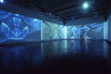 Sarah-Ciraci-Oh-my-God-is-full-of-sta-rs-2004-12-video-projections-on-walls-with-audio-from-movies.-5-environments.-21-minutes-MACRO-Museum-Rom