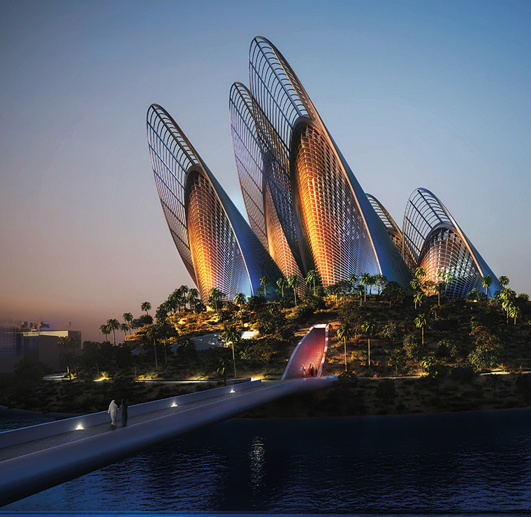 Zayed National Museum. Courtesy: Saadiyat Cultural District
