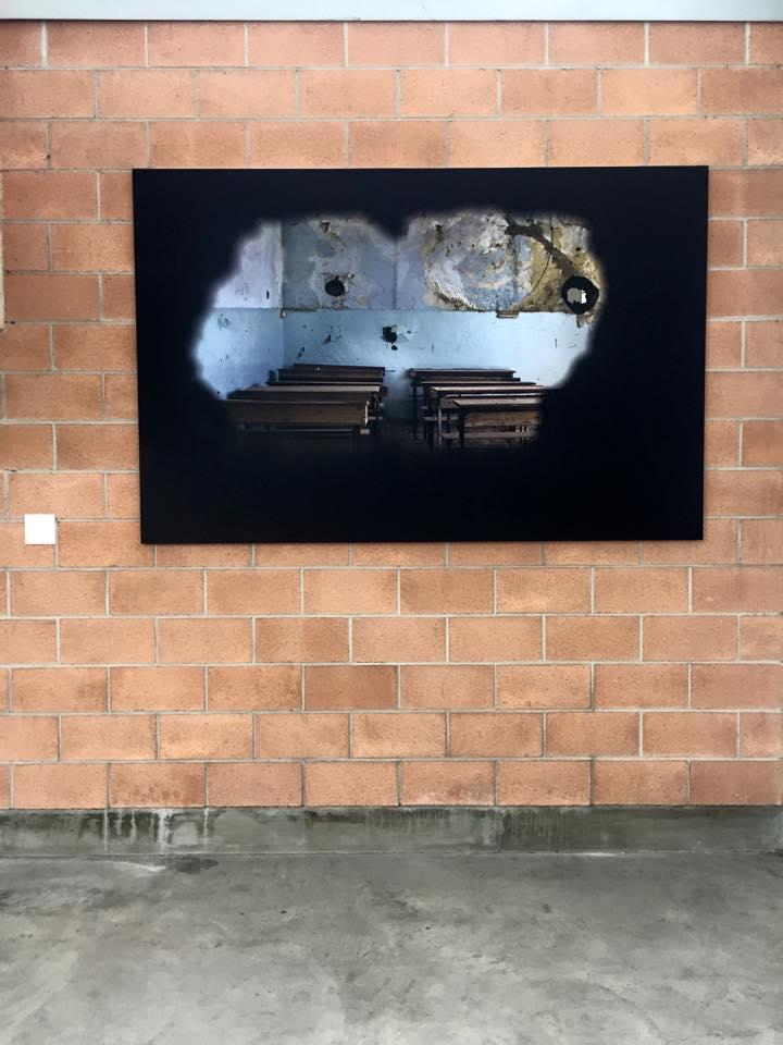 Veduta della mostra ESODI E CONFLITTI, IL DIRITTO ALLA SPERANZA / Exodus and conflicts, the right to hope