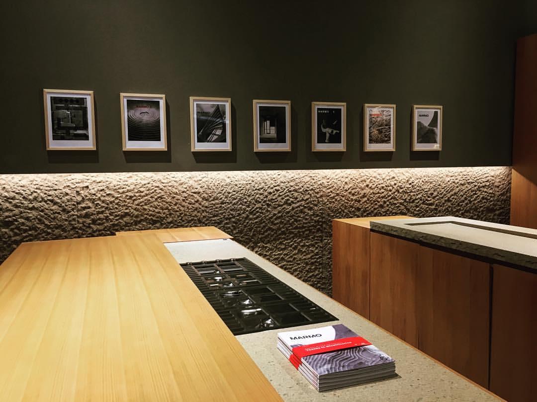 Presentazione Marmo6, showroom minotticucine, Milano. Foto: Nicola Gnesi