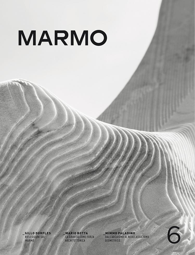 Copertina della rivista Marmo 6