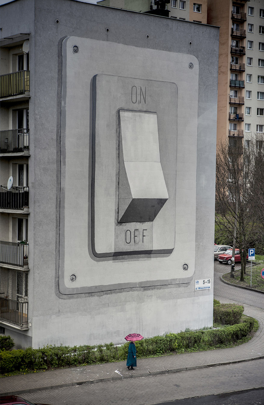 Escif, Switch on