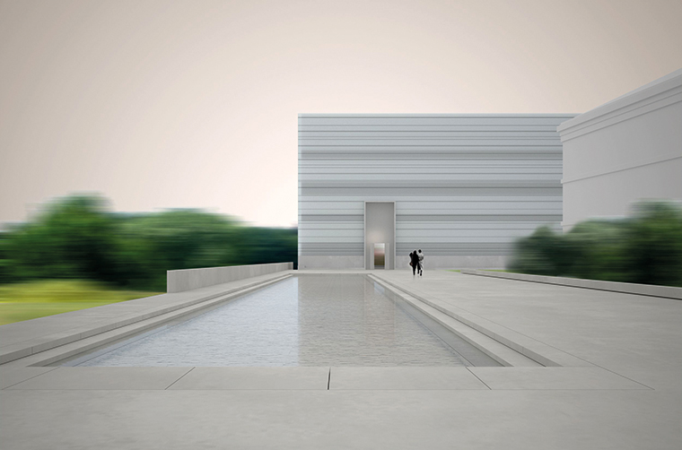 Bauhaus Museum, Weimar, design by Prof. Heike Hanada with Prof. Benedict Tonon, effective 2012