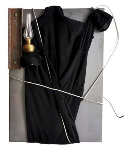 Jannis Kounellis, Senza titolo, 100x70 cm