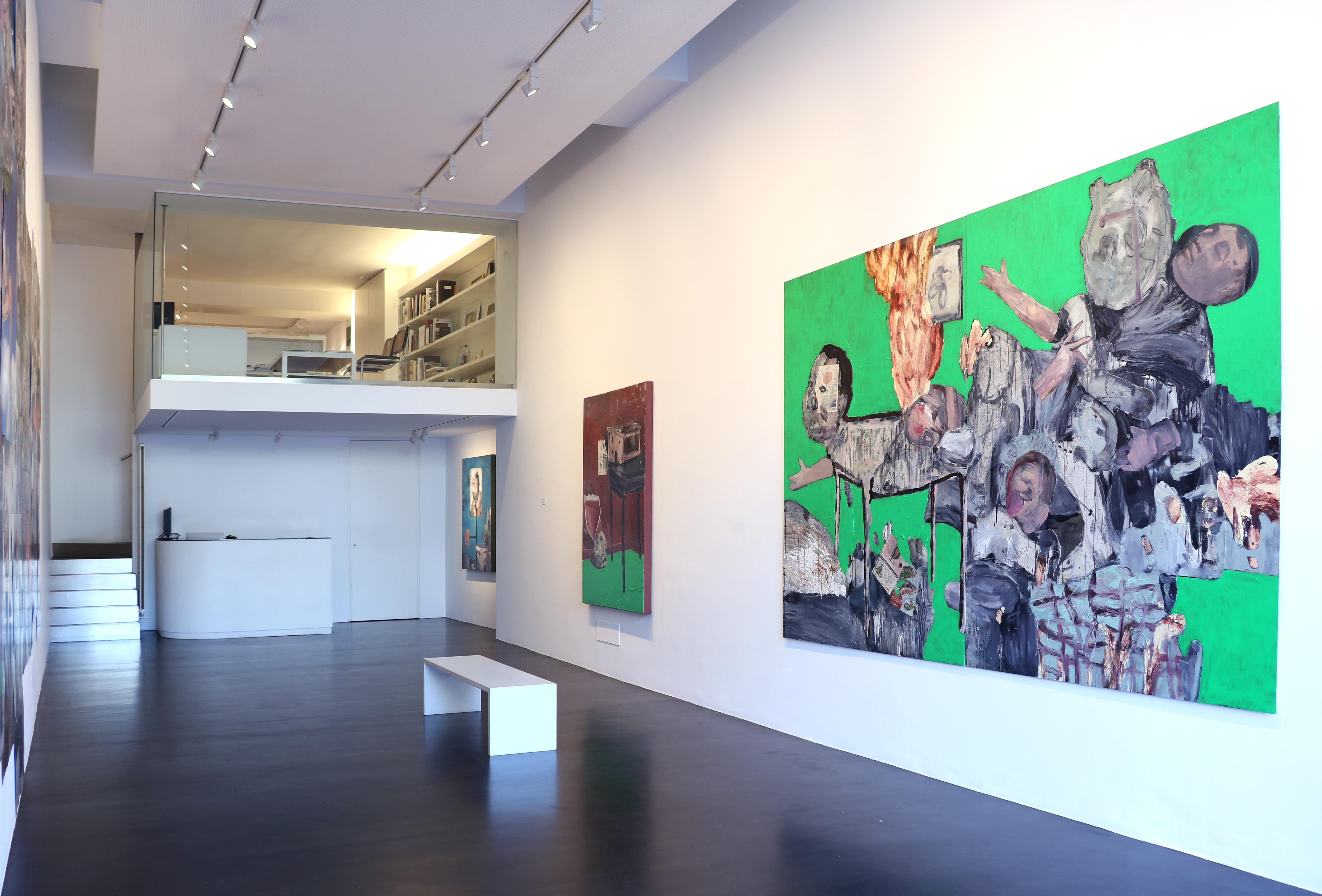 Michele Bubacco, veduta della mostra F**k-simile, Alessandro Casciaro Art Gallery