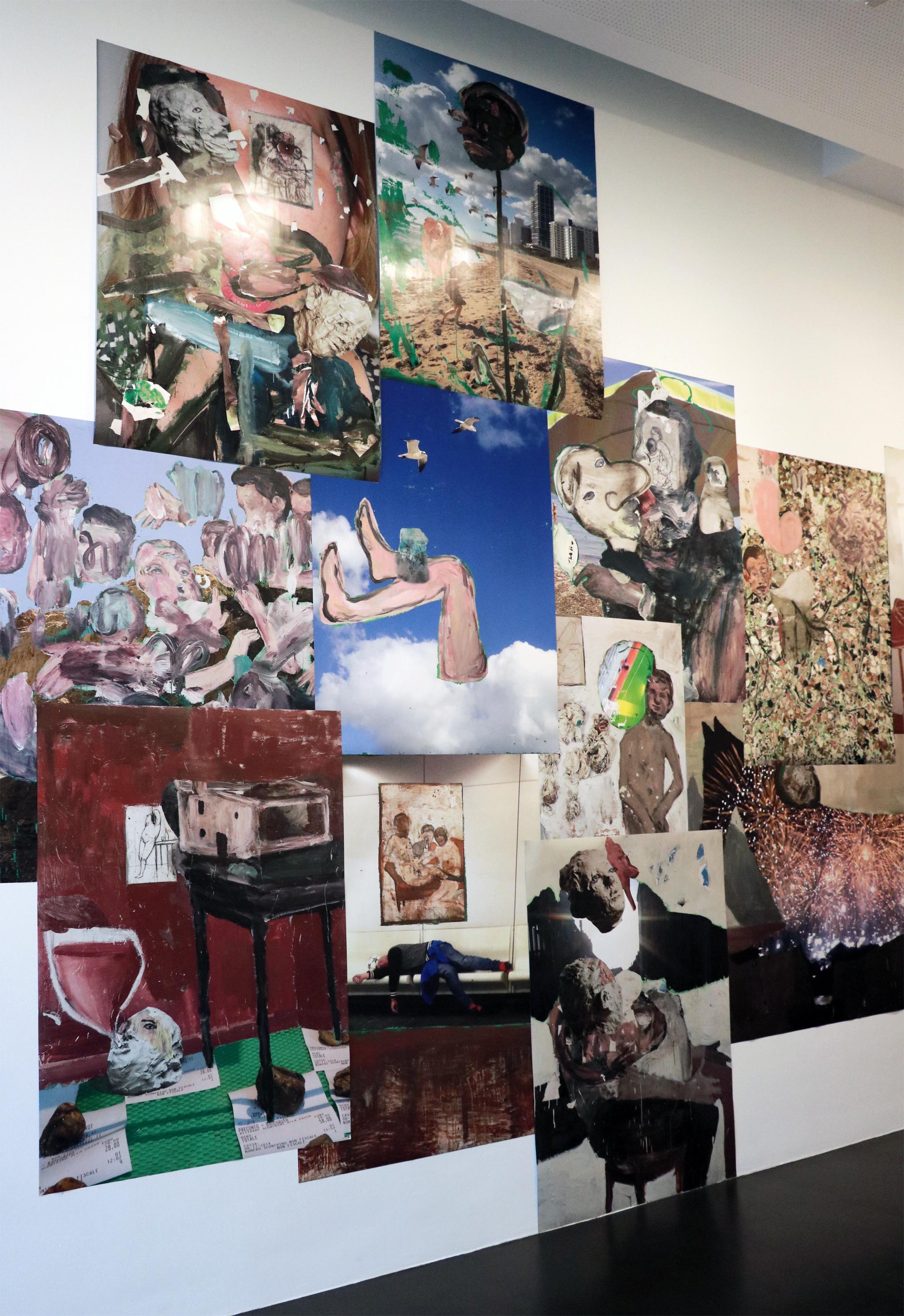 Michele Bubacco, Installation Poster (particolare)