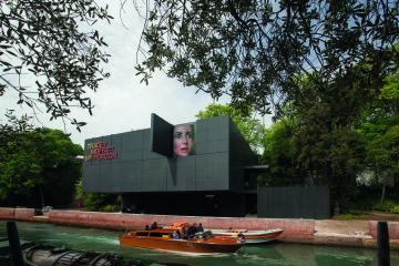 Tracey Moffatt. My Horizon, veduta esterna del Padiglione Australia, 57. Esposizione Internazionale d'Arte - La Biennale di Venezia. Foto: John Gollings