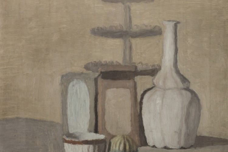 Giorgio Morandi, Natura morta, 1948, olio su tela, 37.5x45 cm, Museo del Novecento, Milano Foto Ranzani