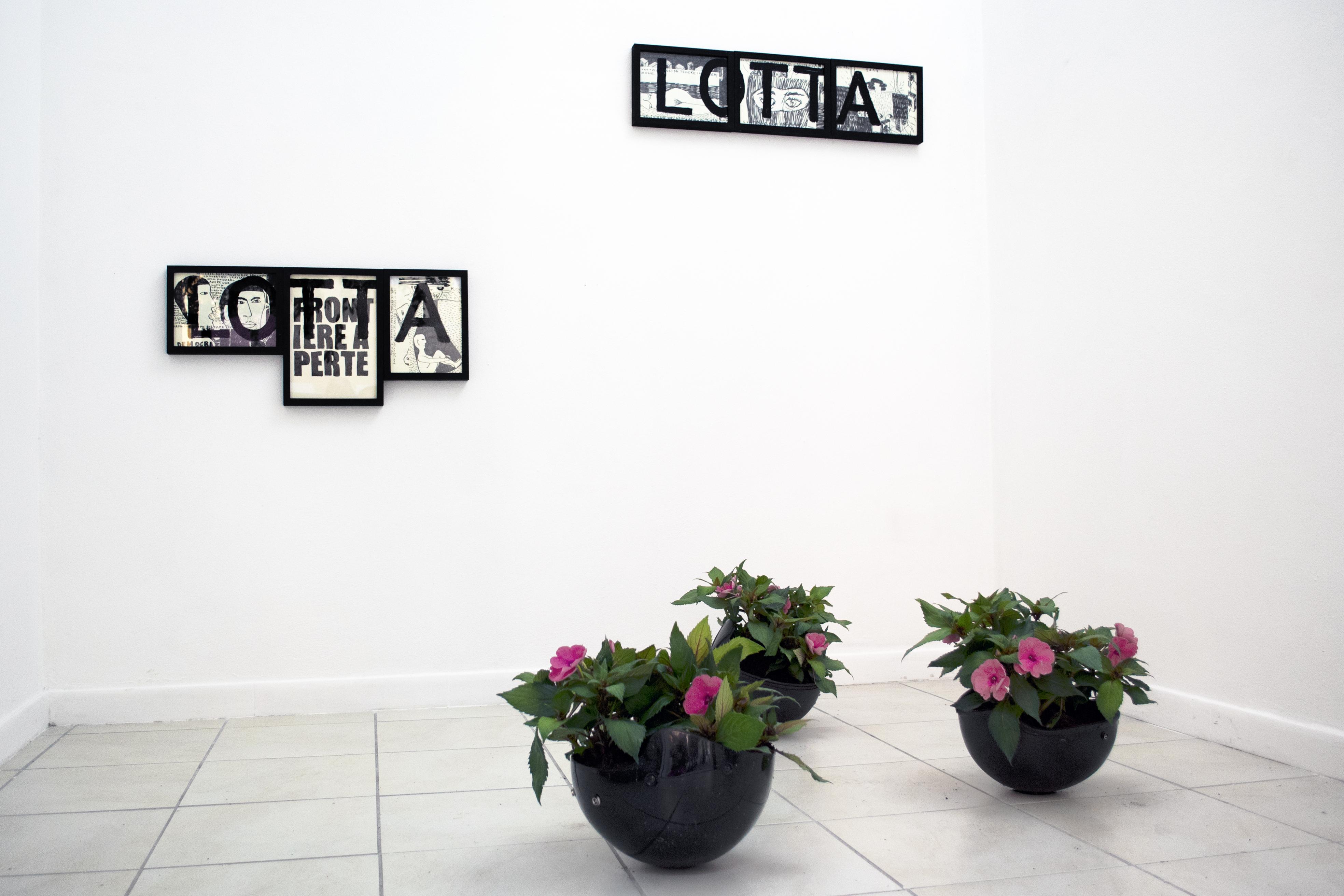 Black Bloc, 2017, veduta dell'installazione