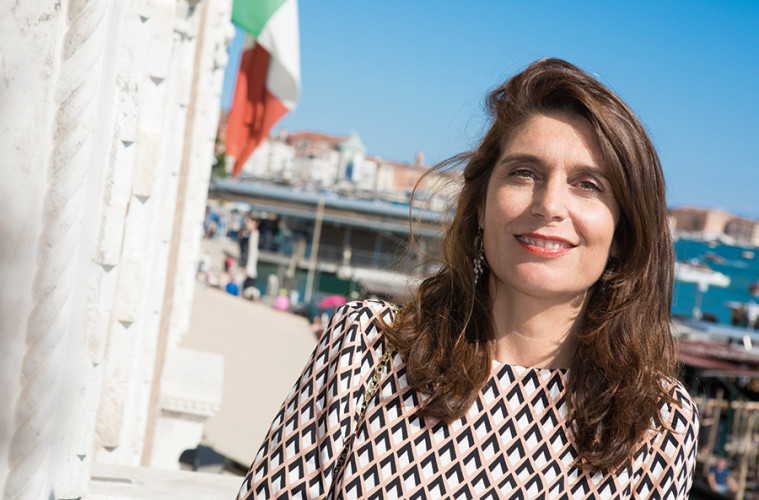 Christine Macel. Foto: Jacopo Salvi. Courtesy: La Biennale di Venezia