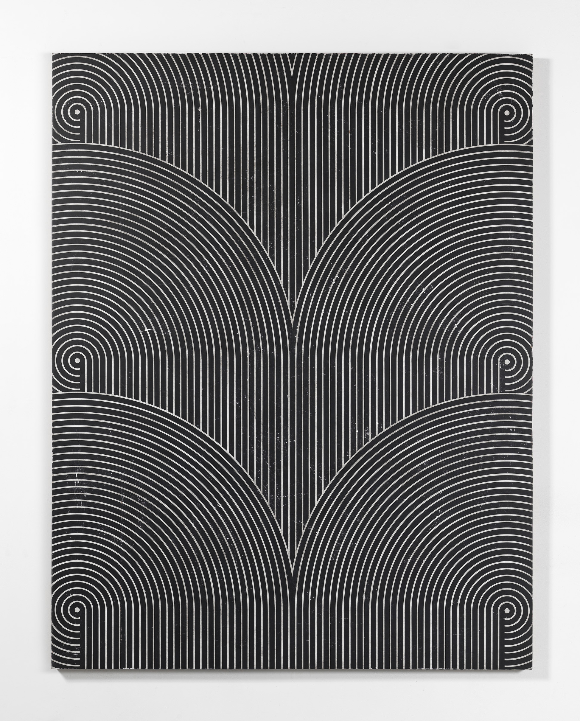 Davide Balliano, Untitled | 2017, Plaster, gesso and lacquer on wood, 182.8 x 142.2 cm