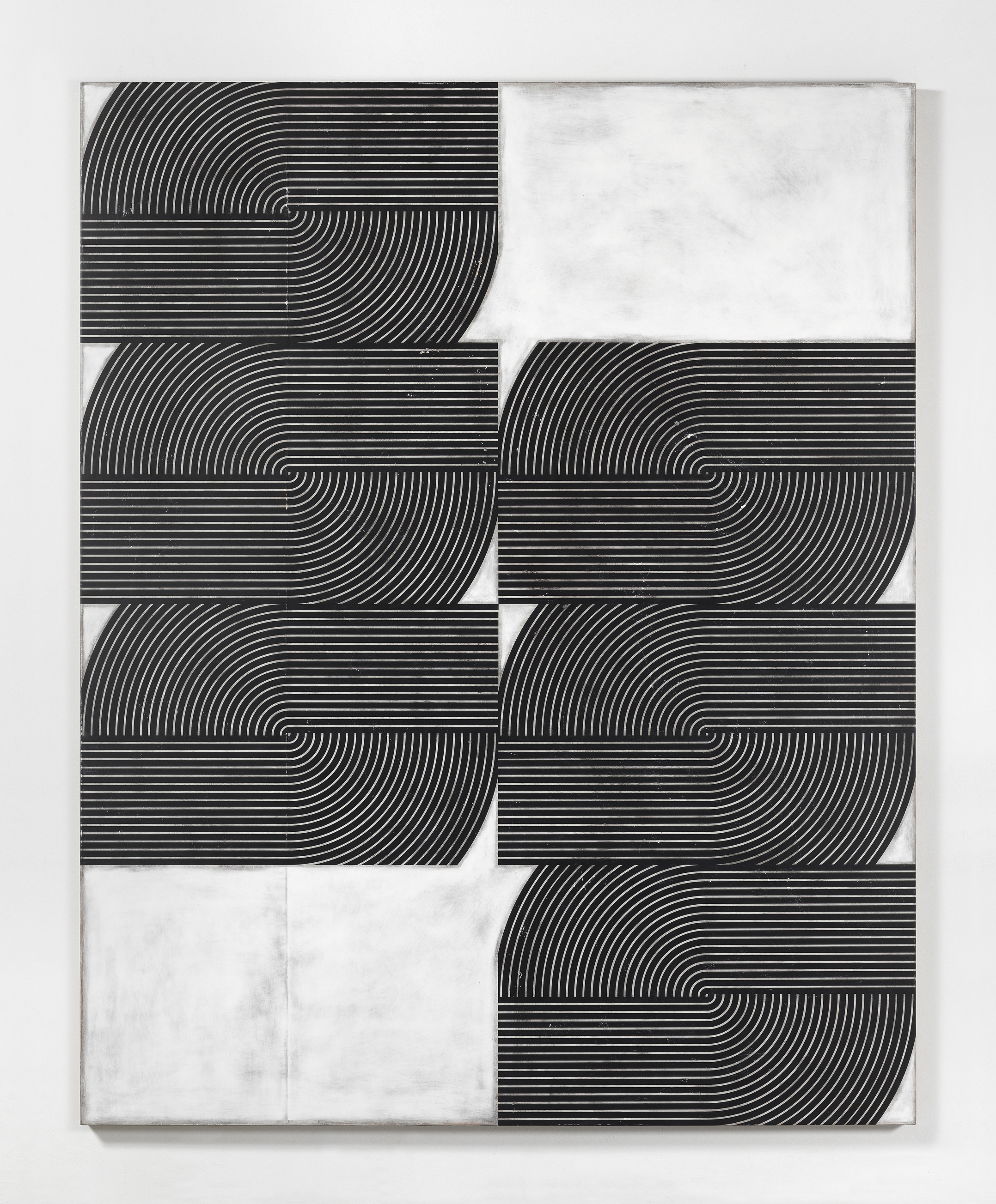 Davide Balliano, Untitled | 2017, Plaster, gesso and lacquer on wood, 203.2 x 162.5 cm