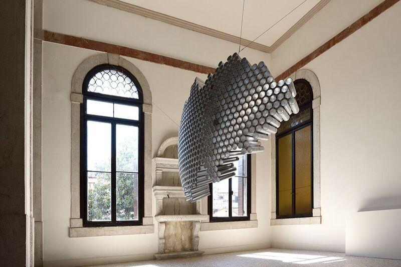 Emil Lukas, veduta installazione a Palazzo Flangini, VeneziaFoto Michele Alberto SereniCourtesy Studio la Città, Verona