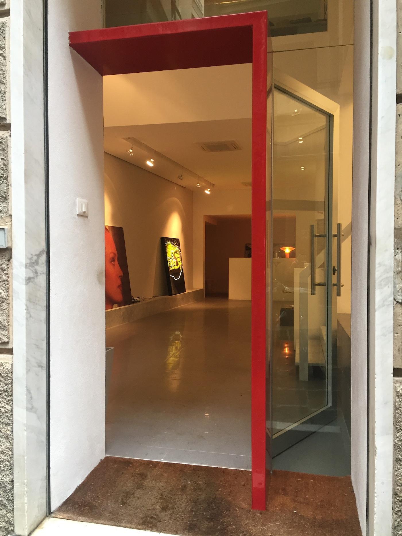 Veduta ingresso galleria