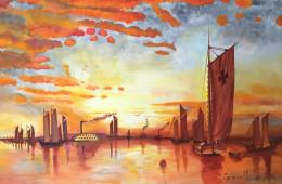 maria-giovanna-speranza-tramonto-sulla-baia-di-new-york2