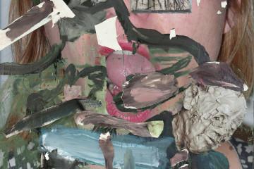Michele-Bubacco-Fuck-Simile-Tongue-green-2016-Poster-montato-su-pannello-di-alluminio-140-x-100-cm.jpg