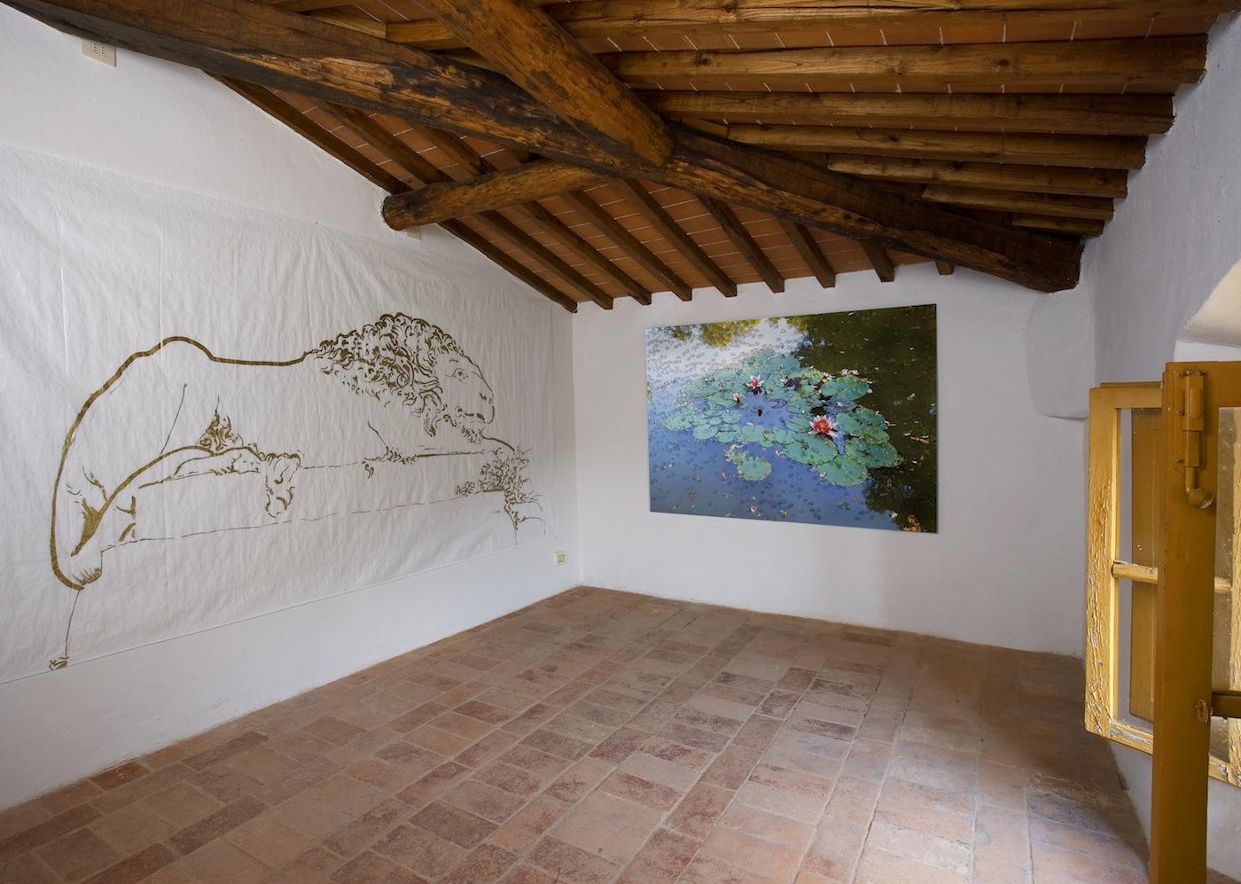 Stefano Arienti, Residenza a Terrarossa, 2016. © Fattoria di Celle - Collezione Gori