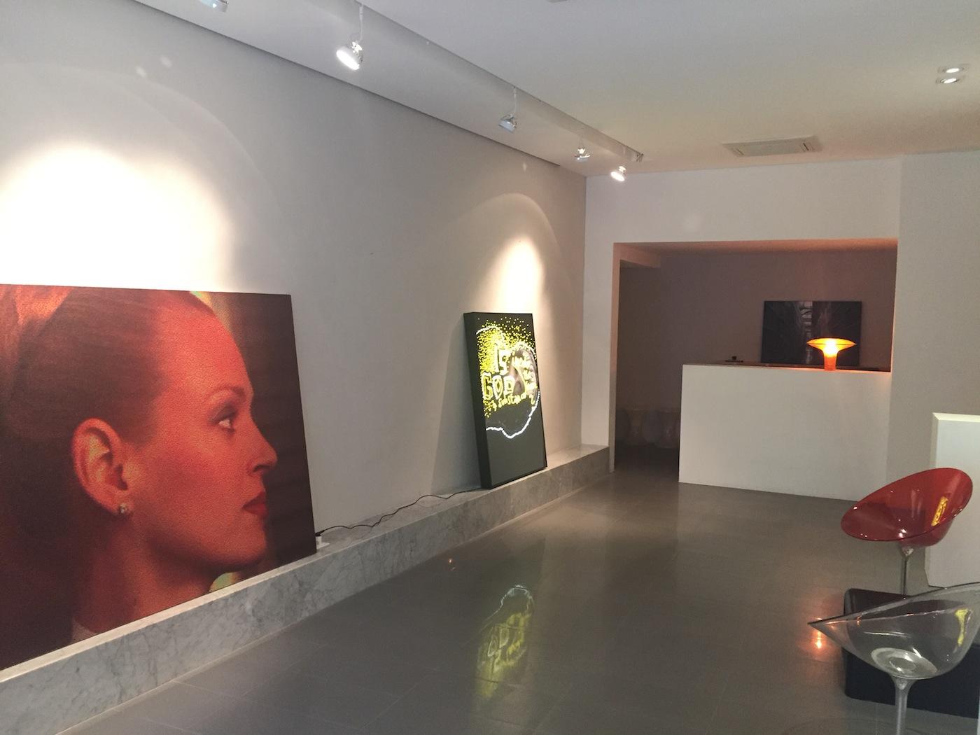 Veduta interna Galleria Guidi&Schoen Arte Contemporanea, Genova