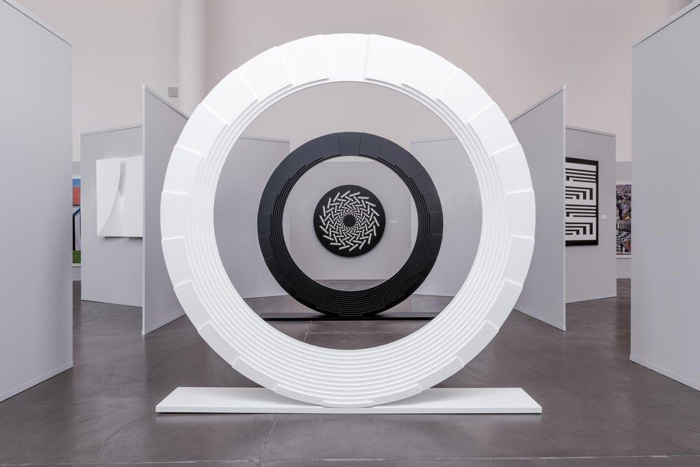 Marcello Morandini, veduta della mostra, Museo MA*GA