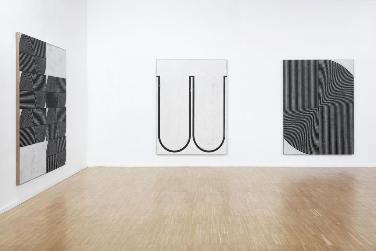 Davide Balliano, veduta della mostra, Luce Gallery, Torino