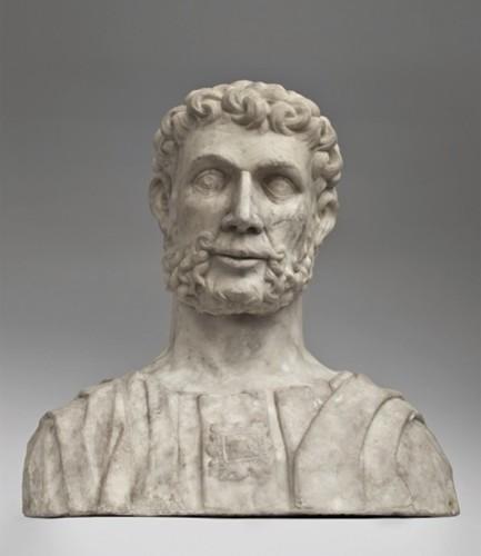 Tommaso Rodari, Busto virile, 1490-1500, marmo, 59x57x27 cm, Museo d'arte della Svizzera italiana, Lugano. Donazione da collezione privata