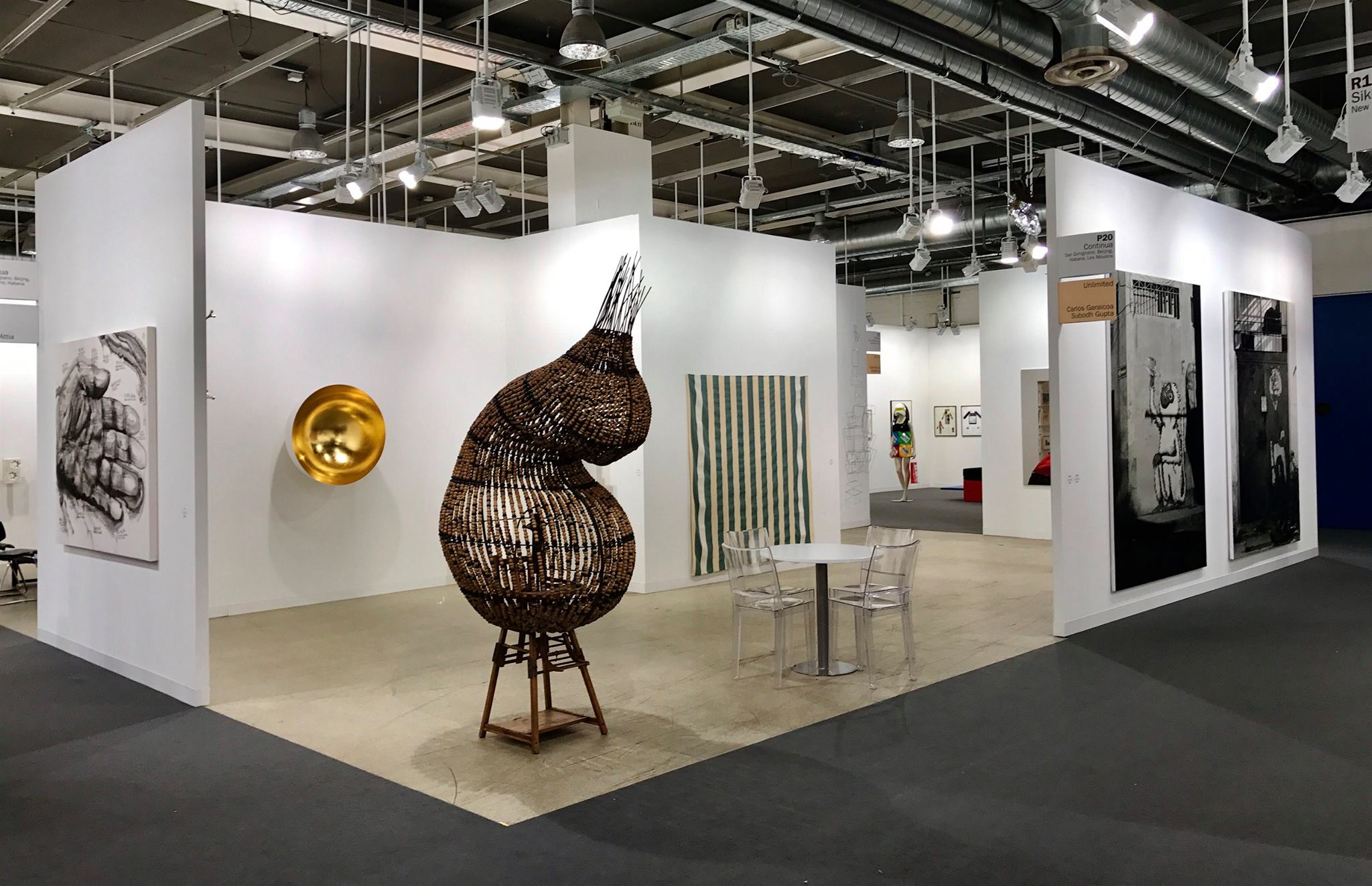 Galleria Continua ad Art Basel 2017, Unlimited and Film Program. Featured: works of Qiu Zhijie, Anish Kapoor, Chen Zhen, Daniel Buren, Antony Gormley, Carlos Garaicoa ecc...