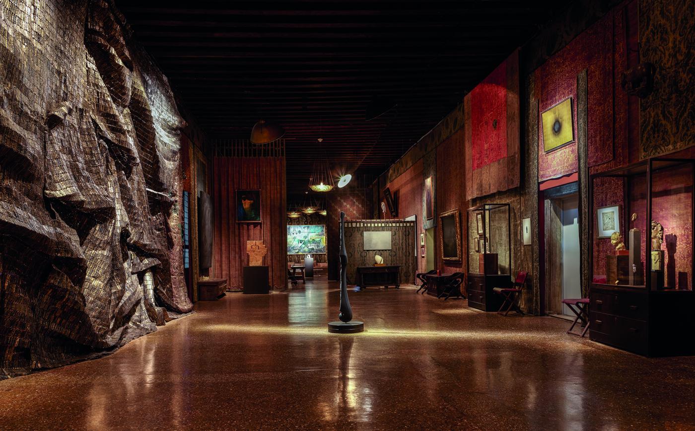 Veduta della mostra Intuition, Palazzo Fortuny. Foto: © Jean-Pierre Gabriel