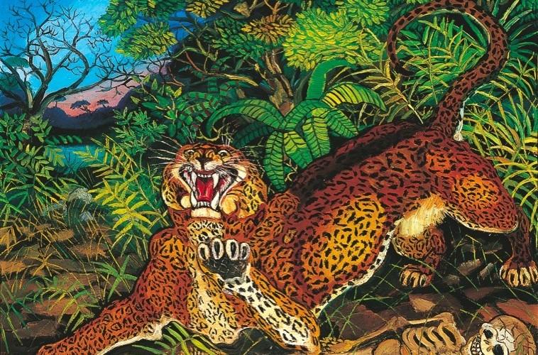 Antonio Ligabue, Leopardo