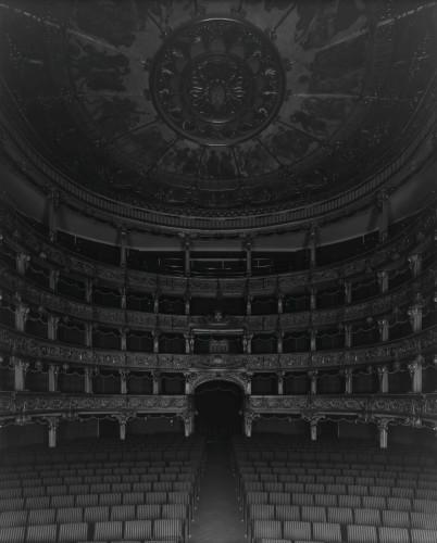 Hiroshi Sugimoto, Teatro Carignano di Torino, 2016 (seating side)