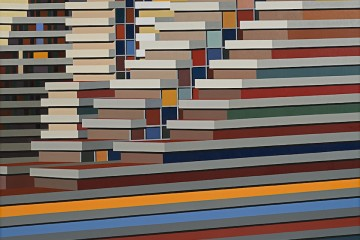 Marco Petrus, M21, 2016, olio su tela, 180x250 cm