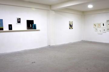 Saaci Gallery, veduta della mostra Corpus, 2017