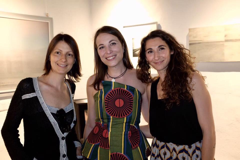 Francesca Sani, Annamaria Schiavon e Sara Delussu (direttrice della sede di Pietrasanta)