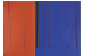 Luc Peire, Krestior, 1970, olio su tela, 73x100 cm Courtesy Lorenzelli Arte, Milano