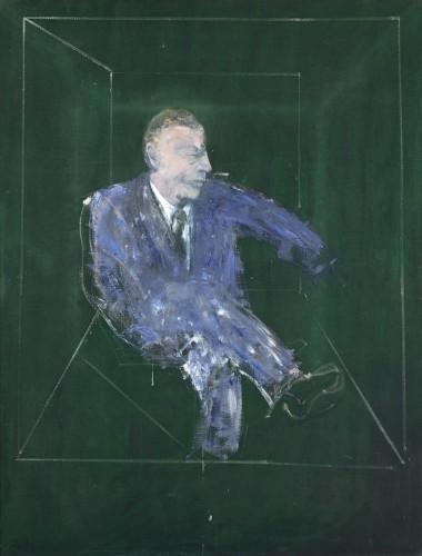 Francis Bacon, Studio per ritratto IX, 1957, olio su tela, 152.5x118 cm, Collezione Fondazione Francesco Federico Cerruti per l'Arte, Deposito a lungo termine Castello di Rivoli Museo d'Arte Contemporanea, Rivoli-Torino
