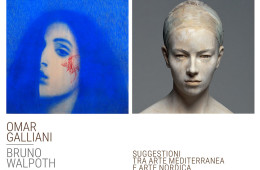 OMAR GALLIANI/BRUNO WALPOTH. Suggestioni tra arte mediterranea e arte nordica