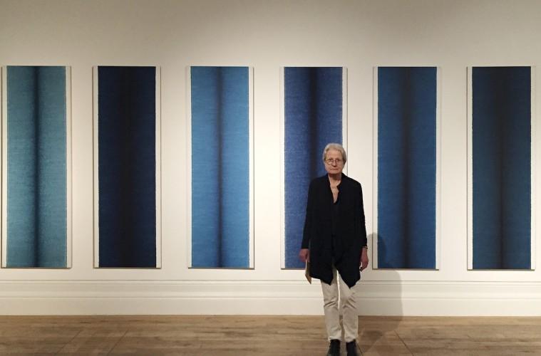 Irma Blank, Mostyn Museum, Wales UK, 2014, Courtesy P420, Bologna