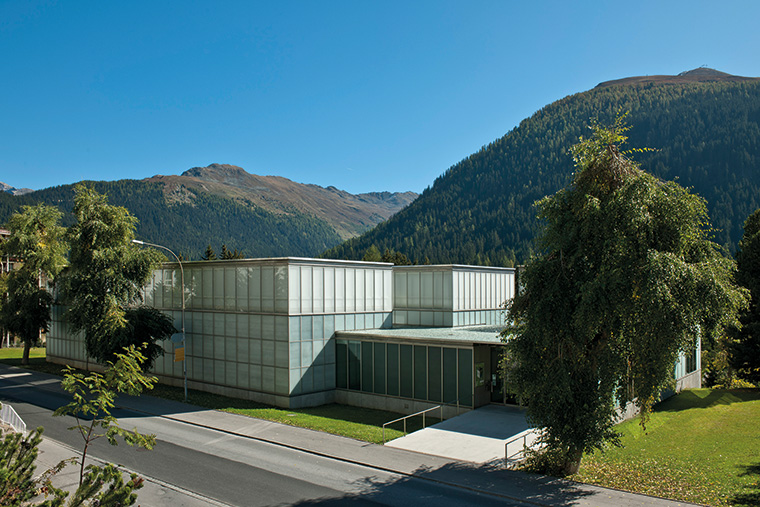 Kirchner Museum Davos. Foto: Frank Kleinbach