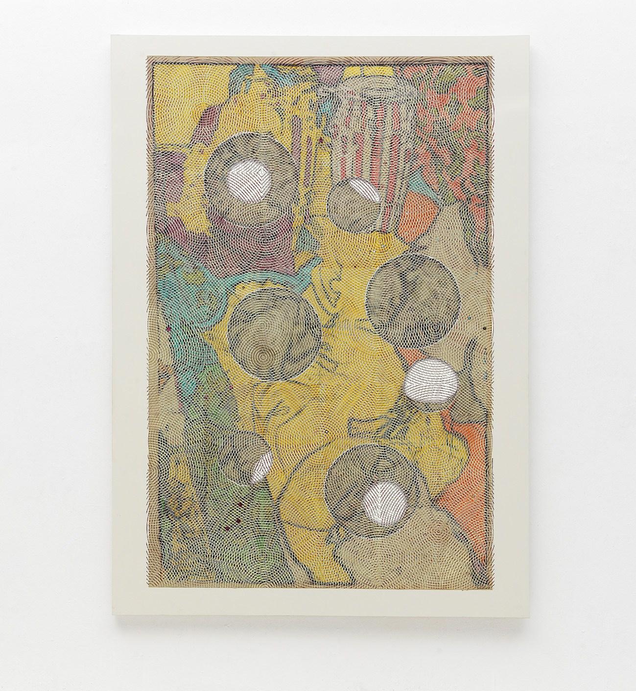 Luigi Carboni, DORMIENTE, 2013-16, olio e acrilico su tela cm250x180. Foto Michele Alberto Sereni