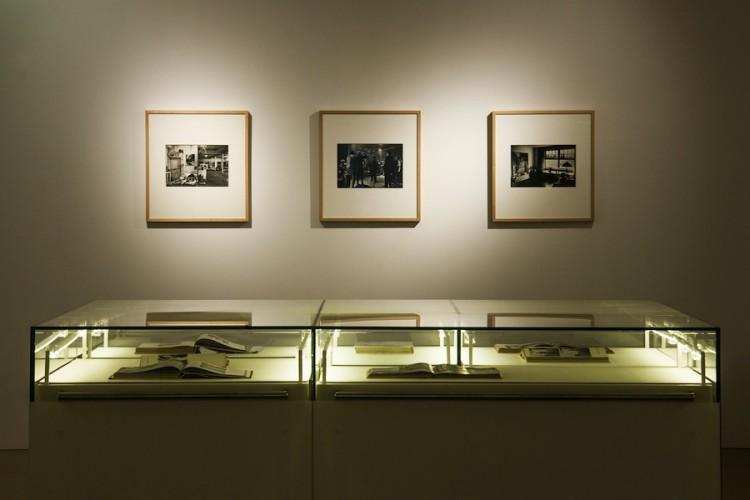 New York New York. Arte italiana. La riscoperta dell'America, veduta della mostra (sezione Mulas), Museo del Novecento, Milano Foto di Maurizio Tosto